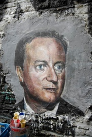 David Cameron graffiti